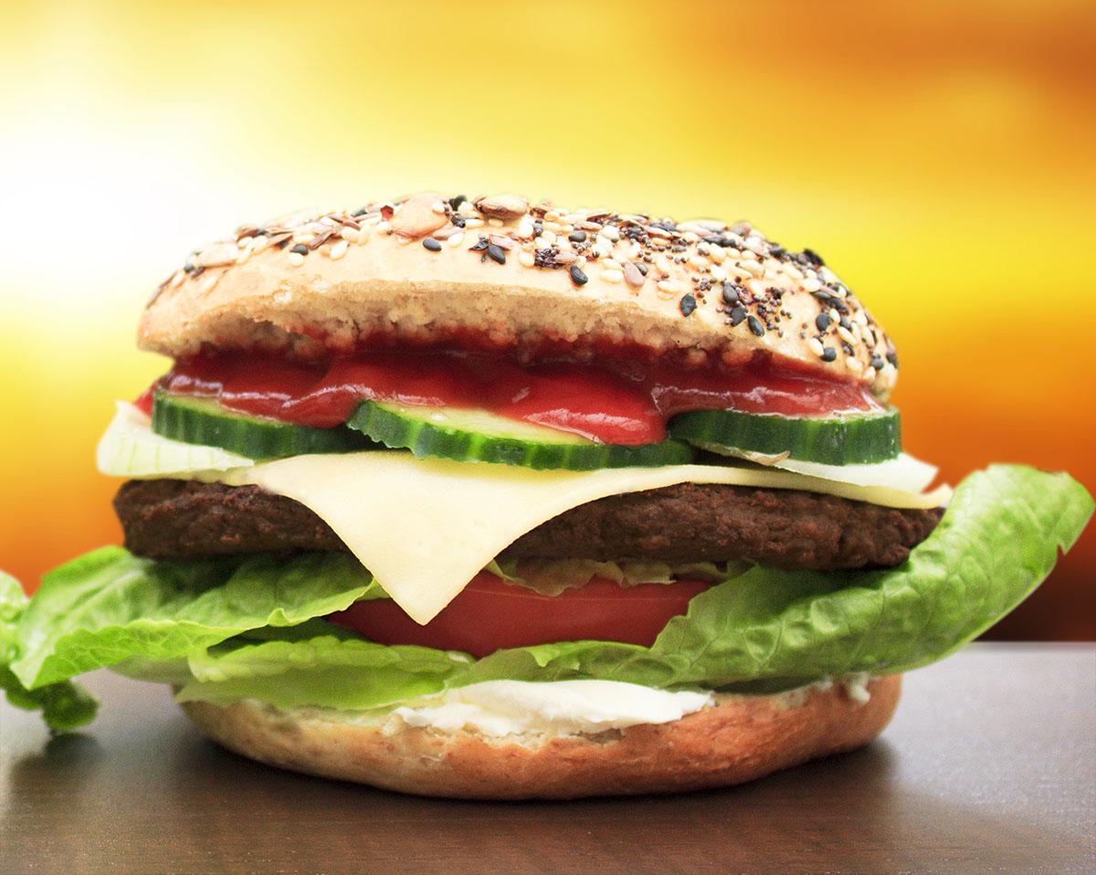 Burger Bagel 1