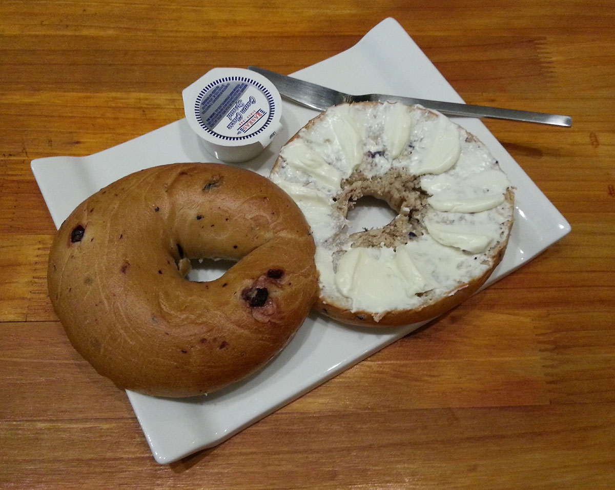 Bagel Breakfast im Fresh Bagels & Muffins