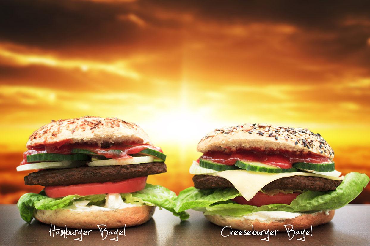 Burger Bagel 2