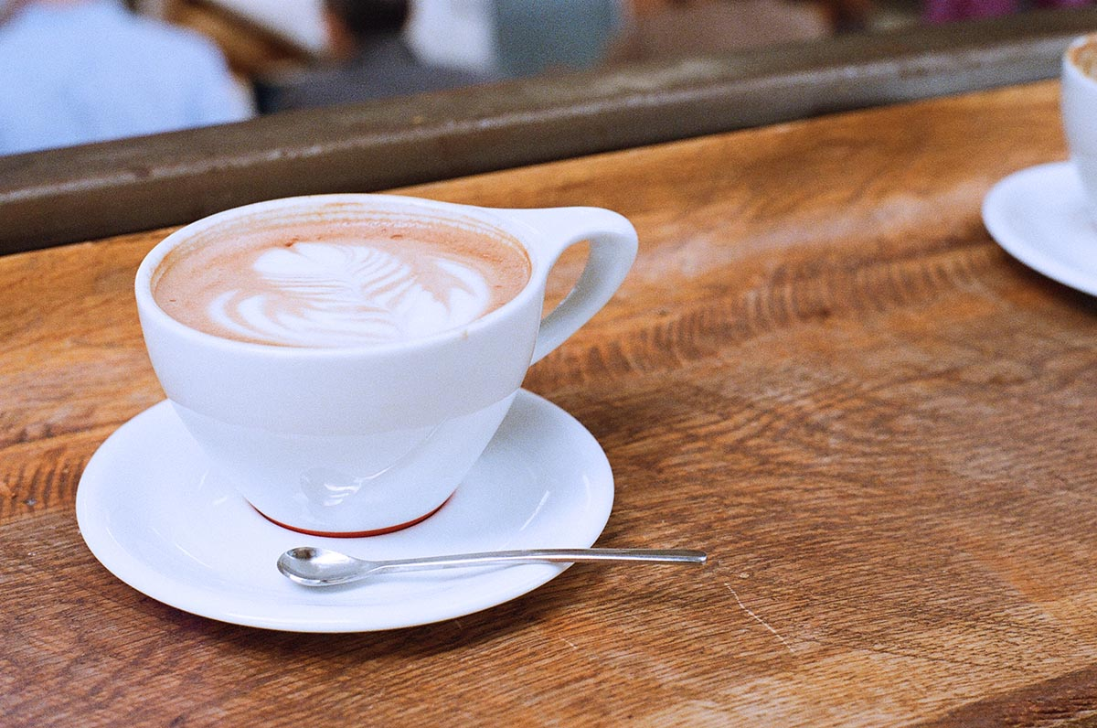 Kaffee-Variationen im Fresh Bagels & Muffins