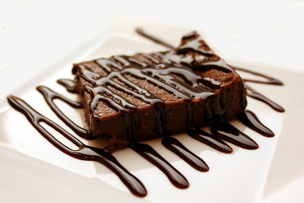 Brownies im Bagelshop