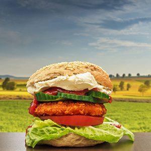 Burger Bagel