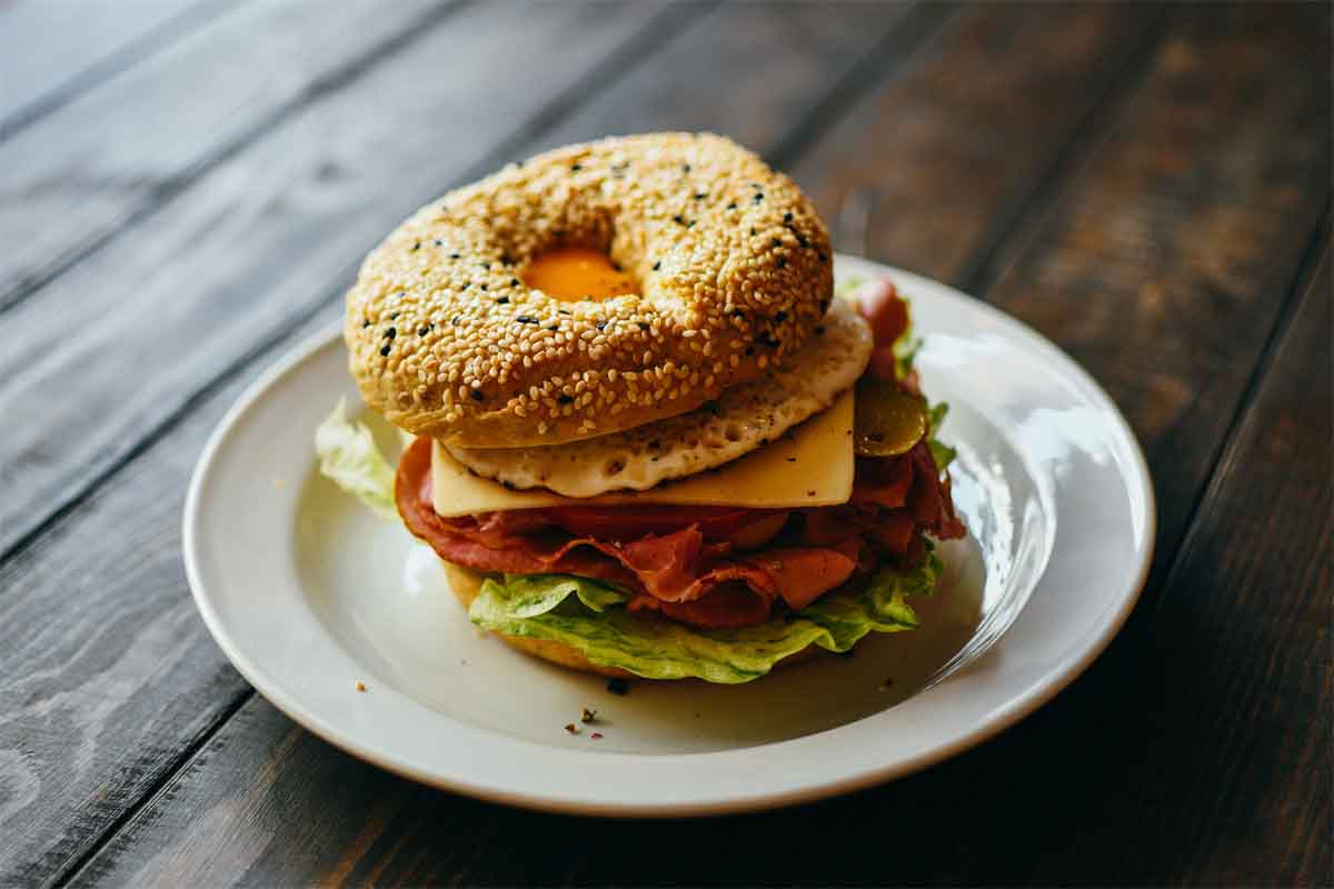 Colorado Beef Ham Bagel